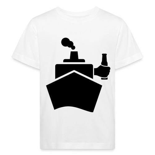 King of the boat - Kinder Bio-T-Shirt