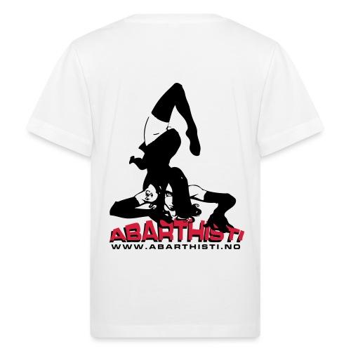 Abarthisti Pinup - Økologisk T-skjorte for barn