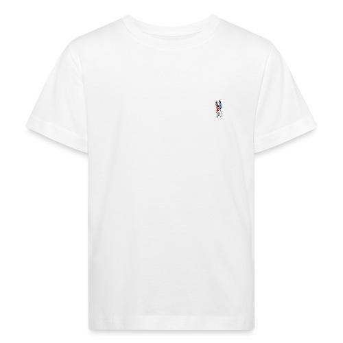 2 People Walking Isolated - Organic børne shirt