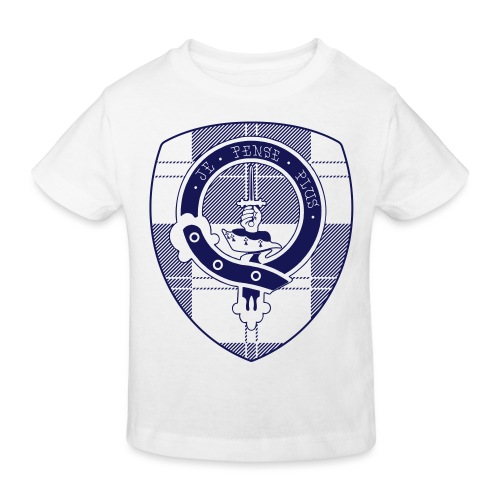 Logo Scouting Erskine 2018 - Kinderen Bio-T-shirt
