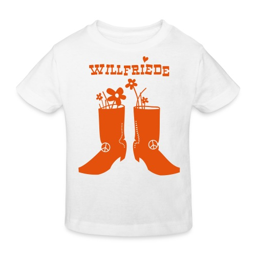 Willfriede Boots - Kinder Bio-T-Shirt