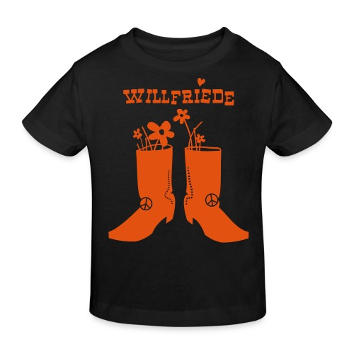 Willfriede Boots - Kinder Bio-T-Shirt