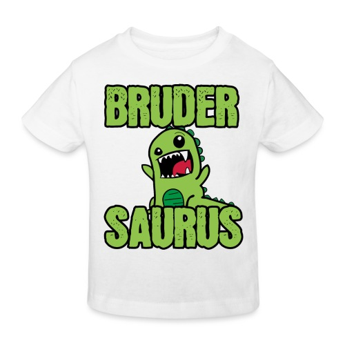 Brudersaurus Dinosaurier Kinder Baby Shirt - Kinder Bio-T-Shirt