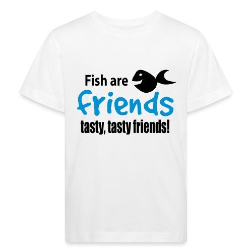 Fisk er venner - Økologisk T-skjorte for barn