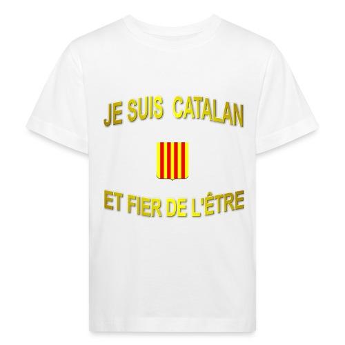 Tee-Shirt supporter du pays CATALAN - T-shirt bio Enfant
