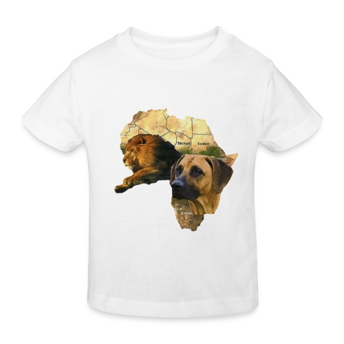 rr afrika - Kinder Bio-T-Shirt