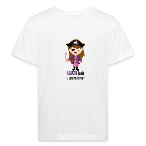 Pirate FILLE - T-shirt bio Enfant