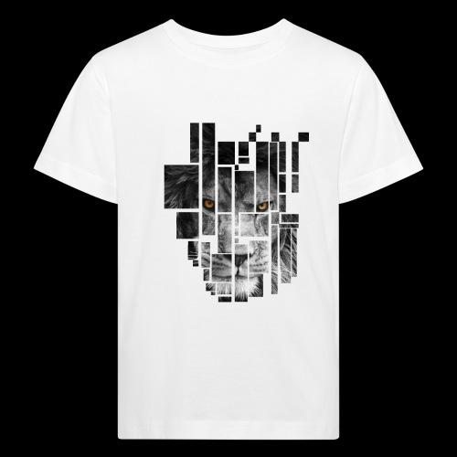 Pixel Lion Tattoo Inspire - Kids' Organic T-Shirt