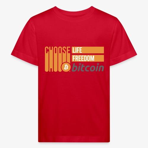 Bitcoin - T-shirt bio Enfant