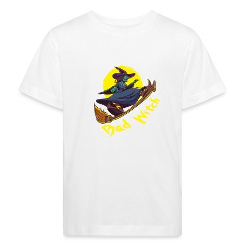 Bad Witch Outfit für Hexen im Kessel brauen - Kinder Bio-T-Shirt