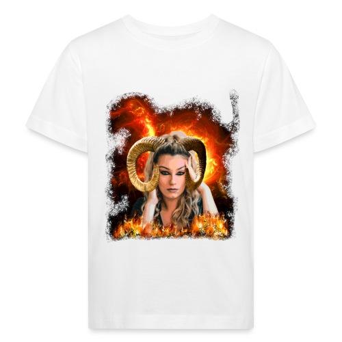 Widder Lady - Kinder Bio-T-Shirt