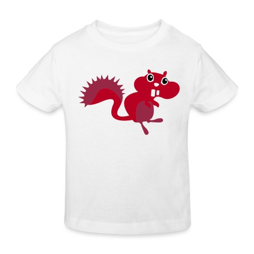 squirrel 3kl lbg kids2 - Kinderen Bio-T-shirt