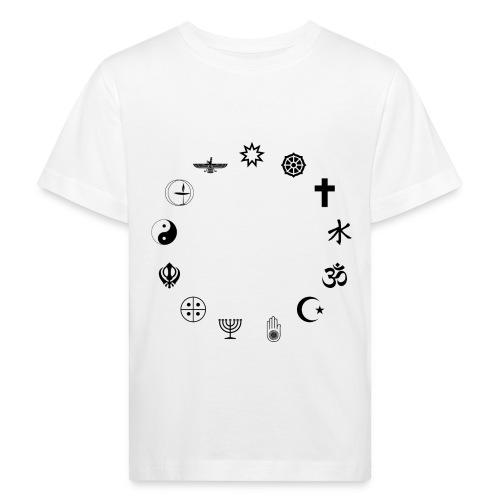 Religionen - Kinder Bio-T-Shirt
