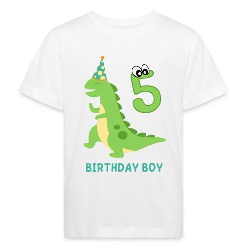 BIRTHDAY BOY - 5 YEARS OLD - Økologisk T-skjorte for barn