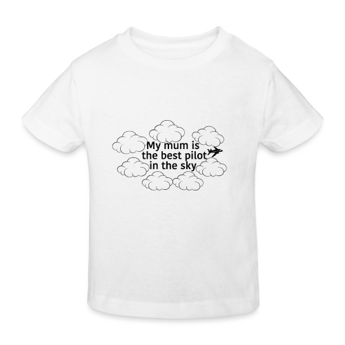My mum black - Kids' Organic T-Shirt