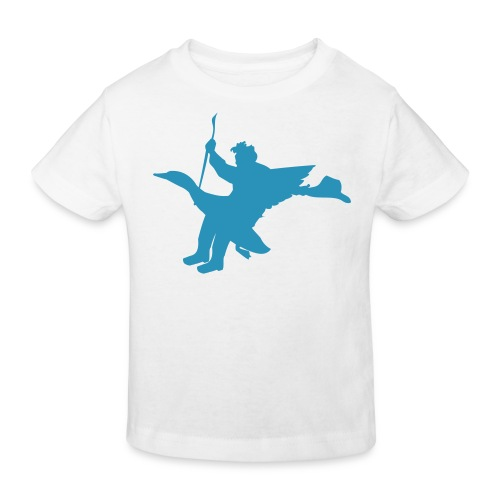 rodeo sur un canard - T-shirt bio Enfant