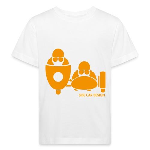 BASSET LOGO orange - T-shirt bio Enfant