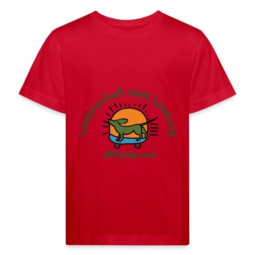 Ullihunde - Leidenschaft statt Leistung - Kinder Bio-T-Shirt