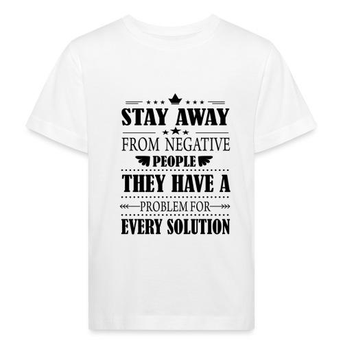 Stay away - Lasten luonnonmukainen t-paita