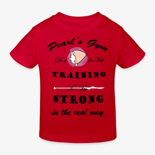 Strong in the Real Way - Maglietta ecologica per bambini