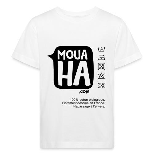 MOUAHA étiquette - T-shirt bio Enfant
