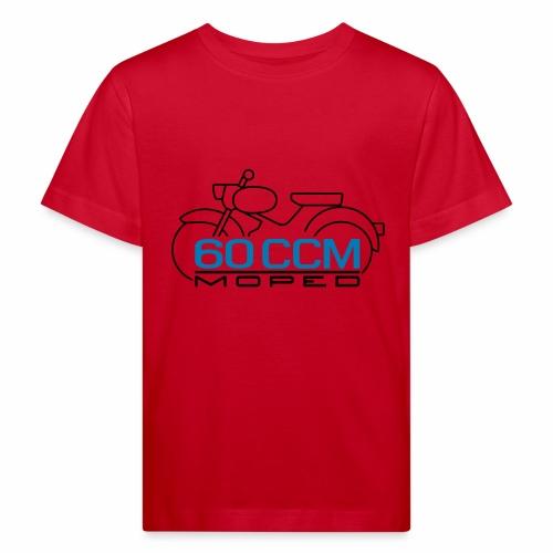 Moped sparrow 60 cc emblem - Kids' Organic T-Shirt