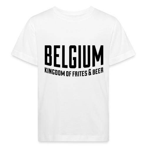 Belgium kingdom of frites & beer - T-shirt bio Enfant