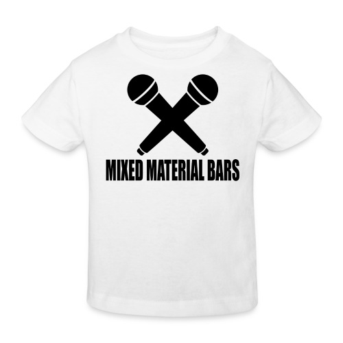 MIXED MATERIAL BARS - Kinder Bio-T-Shirt