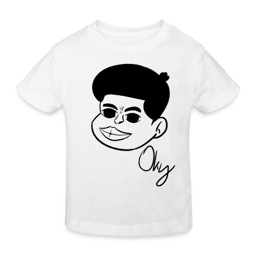 Afro Boy - Kinder Bio-T-Shirt