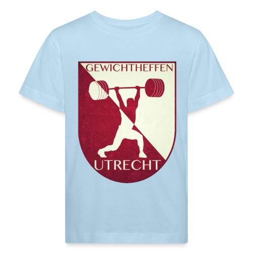 Oldschool Logo - Kinderen Bio-T-shirt