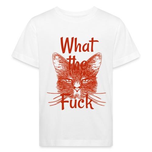 Katze mürrisch - Kinder Bio-T-Shirt
