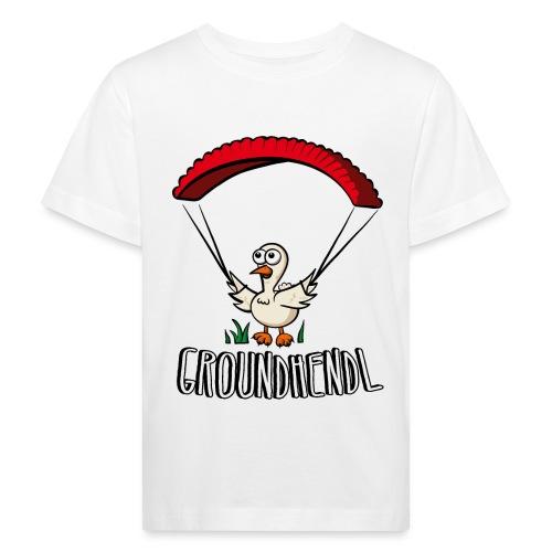 Groundhendl Paragliding Huhn - Kinder Bio-T-Shirt