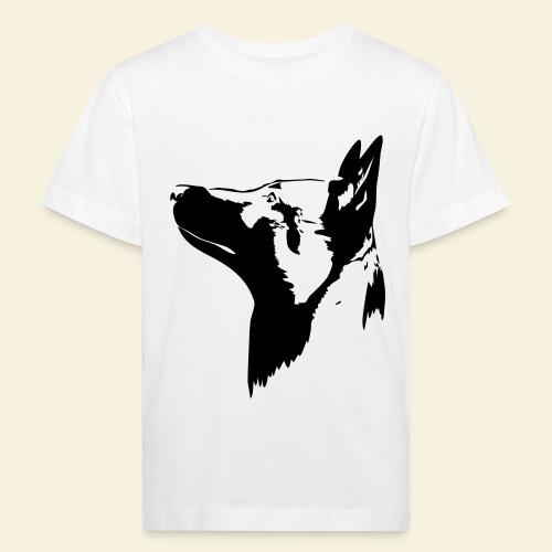 Malinois Portrait - Kinder Bio-T-Shirt
