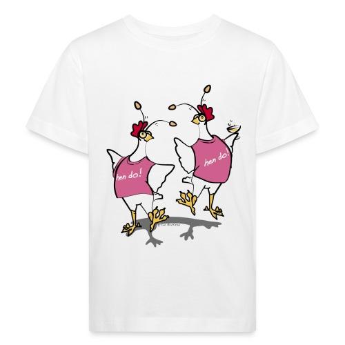 Hen Party (pink) - Kids' Organic T-Shirt