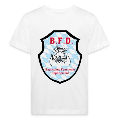 Inoffizielles bayrisches Feuerwehrabzeichen - Kinder Bio-T-Shirt