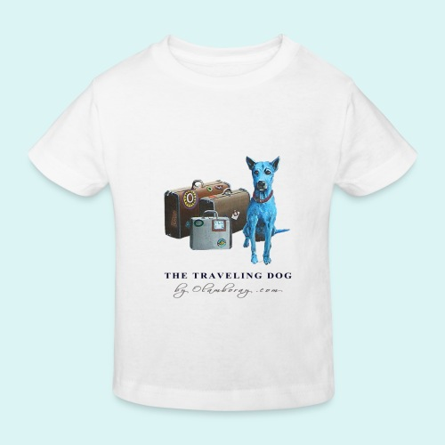 Laly Blue Big - Kids' Organic T-Shirt