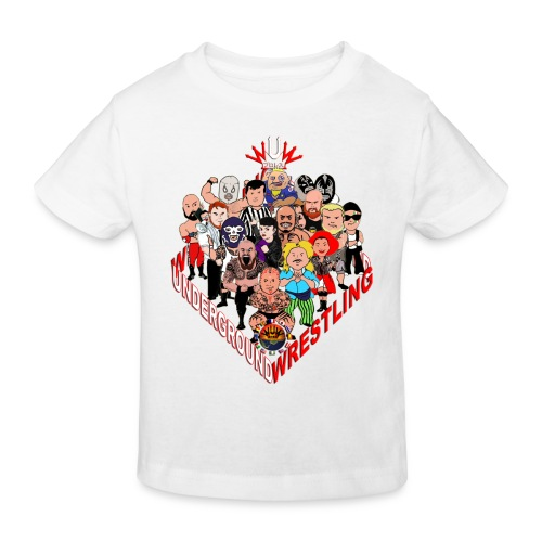 comics-wrestler - Kinder Bio-T-Shirt