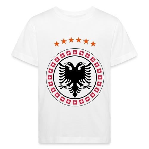 Albanien Kosovo Schweiz - Kinder Bio-T-Shirt