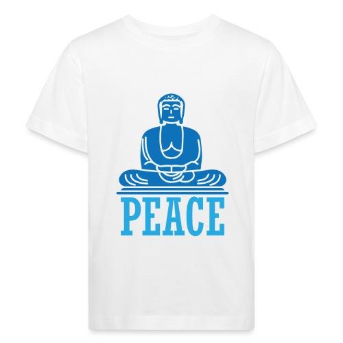 Buddha Meditating. - Kids' Organic T-Shirt