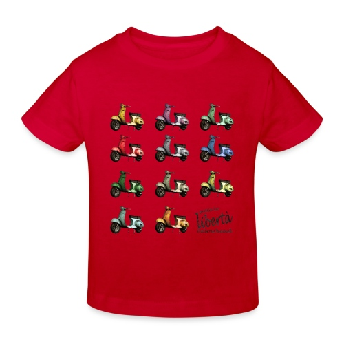 ♂ BIO-SHIRT: gusta la libertà - Kinder Bio-T-Shirt