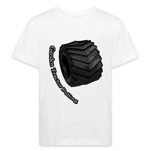 Tractor Pulling - Organic børne shirt