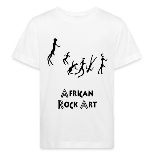 African Rock Art - Lasten luonnonmukainen t-paita