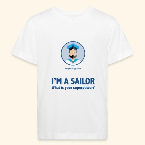 SeaProof Superpower - Kinder Bio-T-Shirt