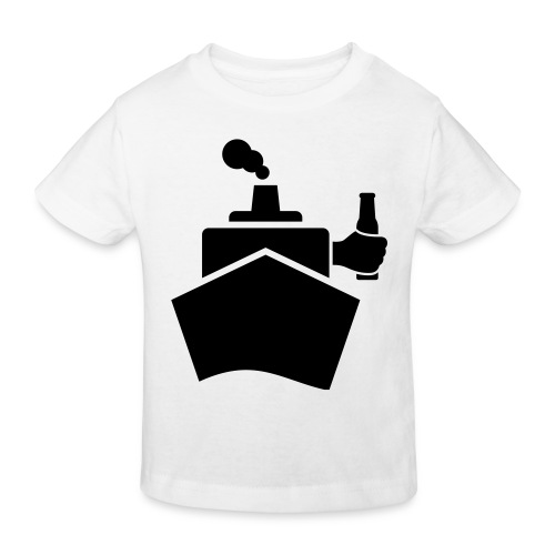King of the boat - Kinder Bio-T-Shirt