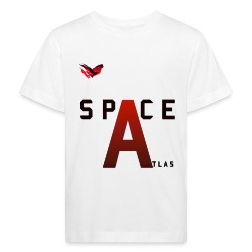 Space Atlas Baseball Long Sleeve Capital A - Organic børne shirt