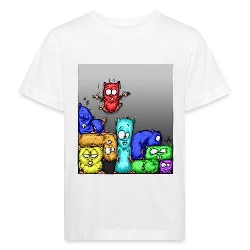 hamstris_farbe - Kinder Bio-T-Shirt