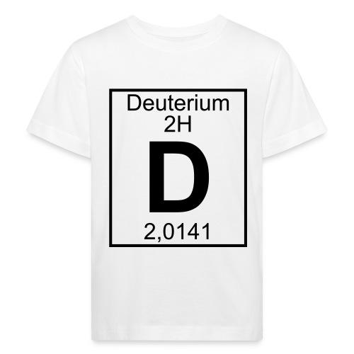 D (Deuterium) - Element 2H - pfll - Kids' Organic T-Shirt