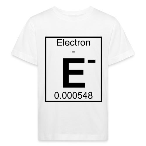 E (electron) - pfll - Kids' Organic T-Shirt