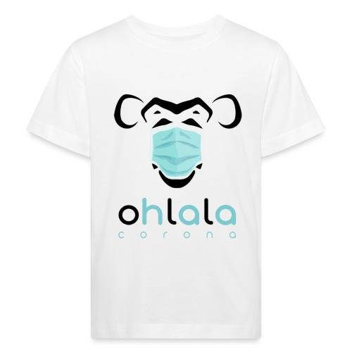 OHLALA CORONA WHITE - T-shirt bio Enfant