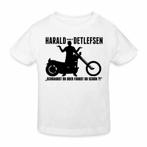Harald Detlefsen - Kinder Bio-T-Shirt